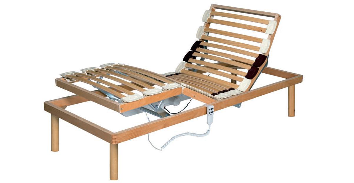 doghe struttura in legno motorizzata